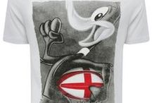 Men: Rugby / Support your team with our rugby merchandise including t-shirts for Scotland, England and Wales. You can even add a bit of fun to your rugby wardrobe with our Looney Tunes t-shirts! Shop Now! - http://www.mandco.com/men/rugby-merchandise/