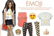 Kylie Trend: Emoji / We are feeling emoji-nal about our latest collection! Say it with an emoji this season with our range of fun emoji products! Shop now - http://www.mandco.com/kylie/shop-the-trend/emoji-shop/