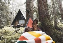 camping out //