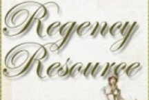 Regency Resources / An eclectic collection of research tidbits and trivia from around the Regency Era that are hopefully useful and interesting to Regency Romance readers and writers alike.