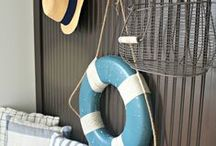 BEACH AND LAKE DECOR / by Debbie Coleman