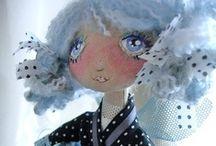 Sculpture / Art - Dolls / by Diane K. Ryan