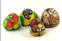 Sculpture / Pebbles, Rocks & Boulders / Inspiration & Beautiful Surprises / by Diane K. Ryan