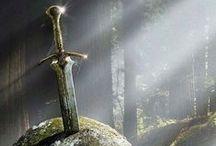Celtas / Representaciones artísticas, megalitos, escritos de la cultura celta