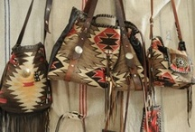 BAGGAGE CLAIM / Western styled leather, leather and more leather!  We'll never have enough handbags and purses!