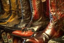 COWBOY BOOTS / Western boots, and Western-inspired boots . . .we love them all!
