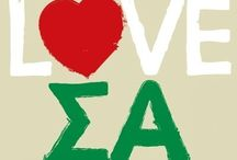 Letters are for Life / Sigma Alpha Lovin! / by Katherine Thigpen