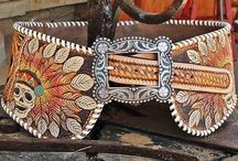 COWGIRL ACCESSORIES / Western outfits are never complete without the accessories!