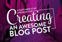 Blogging Dreams / Blogging information and self help. Pinterest | How to's  / by RunWiki