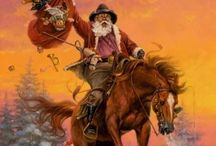 COWBOY CHRISTMAS / Rustic and comforting, here's how we do Christmas in the West. . .celebrate with us!  Merry Christmas, all y'all!