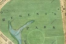 Regency Landmarks / A collection of popular landmarks in and around London and even farther afield throughout Great Britain during the Regency Era. Unfortunately, any pins are on the modern day map. Several of the pins should have period maps or links to better descriptions of what the place was like in the early 1800s.