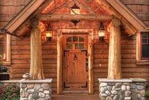 DOORS / The door to our homes speaks volumes about what lay ahead. . .here are some of our favorites!
