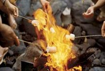 CAMPFIRE FUN! / Need some ideas to jump start your evening campfire get-together? Look no further!