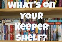 Books I've Read and Loved / A mix of historical romances, contemporary romances, YA, fantasy and science-fiction... I did say 350+ linear feet of bookshelves, right? That doesn't count ebooks! These are definitely books worth reading!