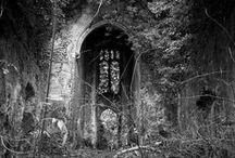 Lugares inquietantes / Casas abandonadas, cementerios, lugares desolados...