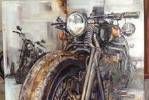 Motorcycle Art / Motorcycle Artwork