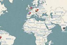 Atlas de lugares mistéricos / Todos los lugares misteriosos de los cinco continentes.