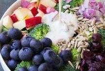 Salad Dreams / Salads for parties, BBQ, Potlucks, chicken salads,  and salad in a jar recipes