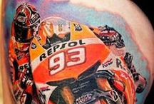 Motorcycle Tattoos / Motorcycles in body art #Motorcycles