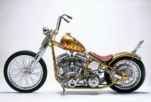 Creative Custom Motorcycle Culture / Cafe Racer, Chopper, Bobber, Brat-Style, Street Tracker, Scrambler & Retro Bikes