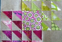 Quilts on the Half Square / Quilts made predominantly with half square triangles