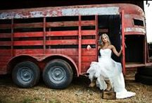 Western Weddings / Fantastic ideas for planning the perfect western wedding. Inspiration for cowboy wedding outfits, wedding boots, cowgirl wedding boots, bridesmaid boots, table settings, western wedding decorations, invitations, and engagement photos.