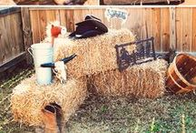 Western Party Ideas / Inspirational party ideas with western themes. Decorations, invitations, table settings, and more.