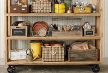 Garage Ideas  / by Leigh Giddings