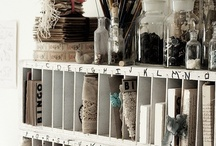 Crafty? Storing Stuff! / by Deanna Dowell