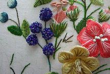 Embroidery / Embroidery, cross stitch,  and crewel / by Marie Malone
