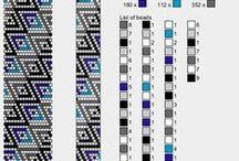 Patterns - 15-18 Bead crochet patterns