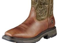 Men's Boots - Work & Cowboy Boots / Men's cowboy boots, work boots, and footwear for all western occasions. Ariat, Justin, Tony Lama, Anderson Bean, Corral, Dan Post, John Deere, Laredo, Lucchese, & Tin Haul.