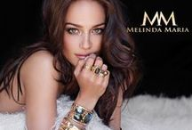 Melinda Maria / Melinda Maria's philosophy of design is to create beautiful, high quality jewelry that looks real, but is actually fine, crafted costume jewelry. High fashion designs, carefully selected materials, and the craftsmanship of some of the best jewelers in the world come together to create stunning pieces that can be worn by celebrities on the red carpet or anytime you want to feel beautiful.