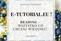 e-tutorial.eu / All about beading and more - HOW TO, TIPS and TRICKS, technique secrets, schemes... Join here:  http://www.subscribepage.com/n3q5l2   to receive bundle of free patterns!