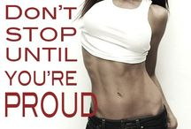 Keep calm and WORK OUT HARD / by Kalynda Madge