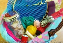 Sewing Play for Kids / Threading games and sewing projects that Khaila can do. / by Kalynda Madge