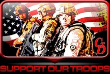 Support Our Troops / by Cheaper Than Dirt!