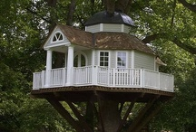 Playhouses, Treehouses & Hideouts / by ♥ Kimberley Craig ♥