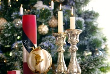 "Spirit of Christmas  / ""A Christmas candle is a lovely thing; It makes no noise at all, But softly gives itself away; While quite unselfish, it grows small."" -- Eva K. Logue"