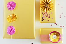 Design: Wrap It or Bag It / Giftwrap inspiration and trends / by Paula Schweikhard
