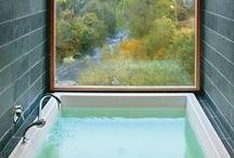 The Clean & Serene  / Clean, Simple, Chic, Glam Bathrooms