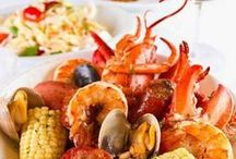 For the Love of Seafood! / Do you love fresh seafood? So do we! Here are our favorites!