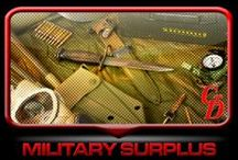 Military Surplus / MilSurp Stuff You Need / by Cheaper Than Dirt!