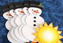 Winter Activities for Kids / Winter inspired activities, crafts, DIY, printables and games for kids - babies, toddlers, preschoolers, school age children and teens