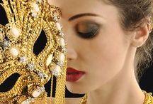 Мотивы рококо и венецианского карнавала в свадьбе.