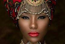 Африканские мотивы с в свадьбах.