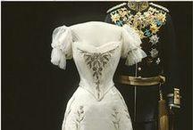Старинные свадебные платья.