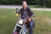 Ridin Bikes / Riding our motorcycles year round in Maine. (Okay, so sometimes it snows...)  :-)