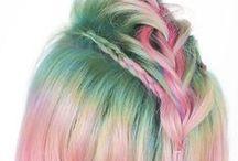 Rainbow Hair Romance / My Little Pony eat your heart out! / by Hair Romance