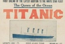 Titanic / Pictures and information about the #Titanic which sailed from #Southampton UK in 1912.  / by Nicky Hirst
